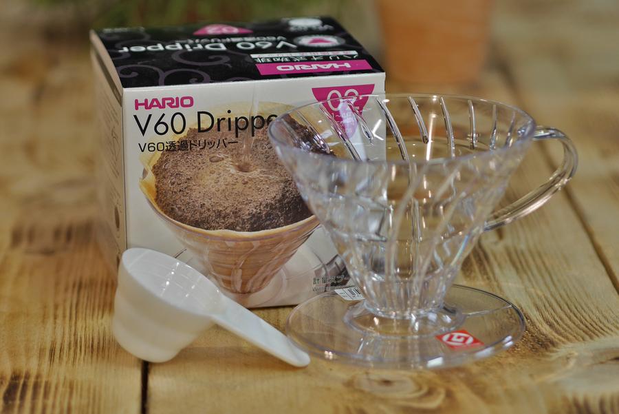 HARIO V60 02 Plastic Dripper