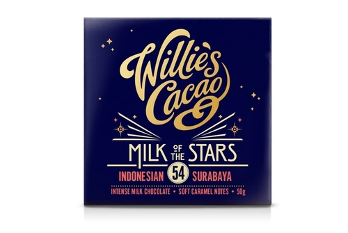 Willies Milk of the Stars Milk Chocolate